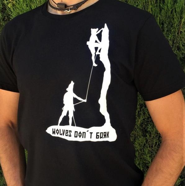 Camiseta de escalada