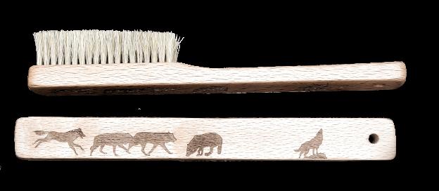 cepillos con dibujos lobos